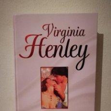 Libros de segunda mano: LIBRO - ENAMORADA - NOVELA ROMANTICA - VIRGINIA HENLEY - ED. RBA. Lote 235611755