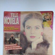 Libros de segunda mano: TELE NOVELA - Nº 188 - DEL 18 AL 24 NOVIEMBRE 1996. Lote 235890665