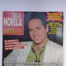 Libros de segunda mano: TELE NOVELA - Nº 190 - DEL 2 AL 8 DICIEMBRE 1996. Lote 235890840