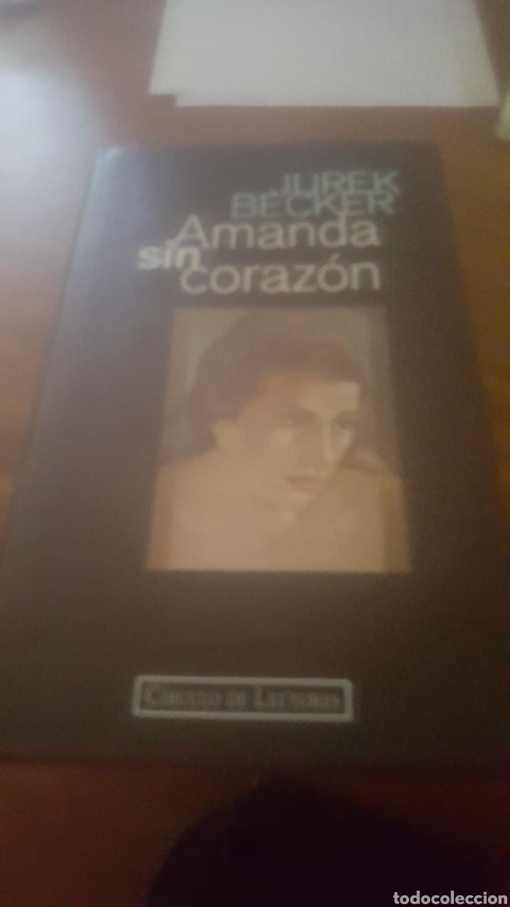 AMANDA SIN CORAZON (Libros de Segunda Mano (posteriores a 1936) - Literatura - Narrativa - Novela Romántica)