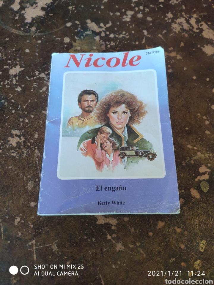NICOLE N° 103: EL ENGAÑO (KETTY WHITE) (Libros de Segunda Mano (posteriores a 1936) - Literatura - Narrativa - Novela Romántica)