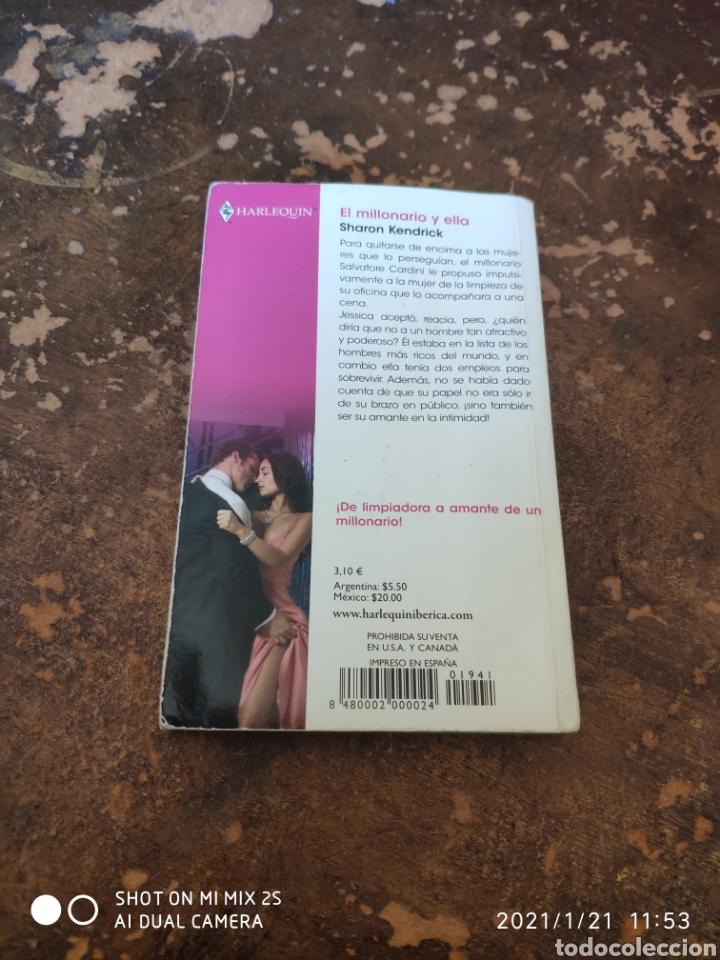 Libros de segunda mano: HARLEQUIN BIANCA N° 1941: EL MILLONARIO Y ELLA (SHARON KENDRICK) - Foto 2 - 236324320