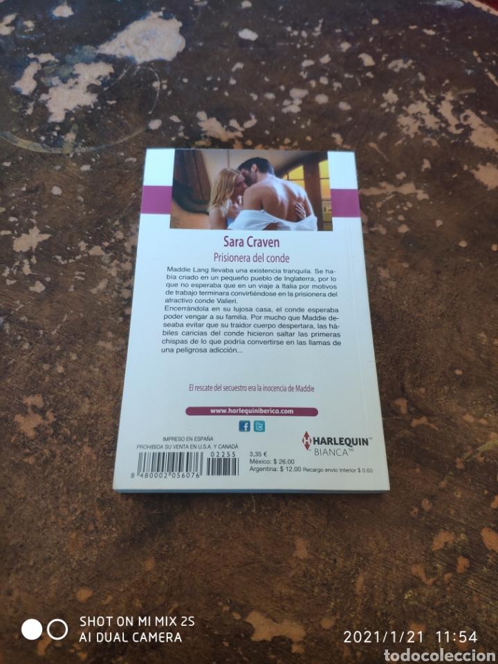 Libros de segunda mano: HARLEQUIN BIANCA N° 2255: PRISIONERA DEL COCHE (SARA CRAVEN) - Foto 2 - 236324635