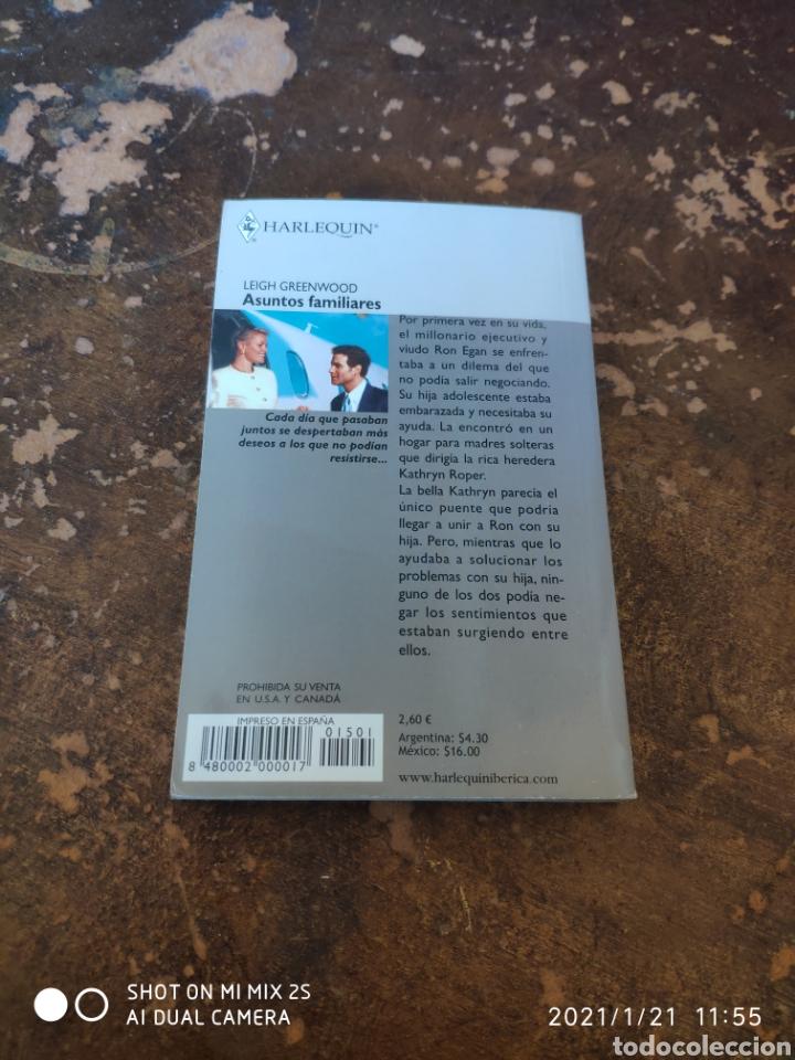 Libros de segunda mano: HARLEQUIN JULIA N° 6-1: ASUNTOS FAMILIARES (LEIGH GREENWOOD) - Foto 2 - 236324940
