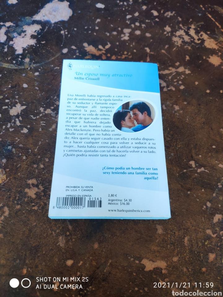 Libros de segunda mano: HARLEQUIN JULIA N° 6-63: UN ESPOSO MUY ATRACTIVO (MILLIE CRISWELL) - Foto 2 - 236325865
