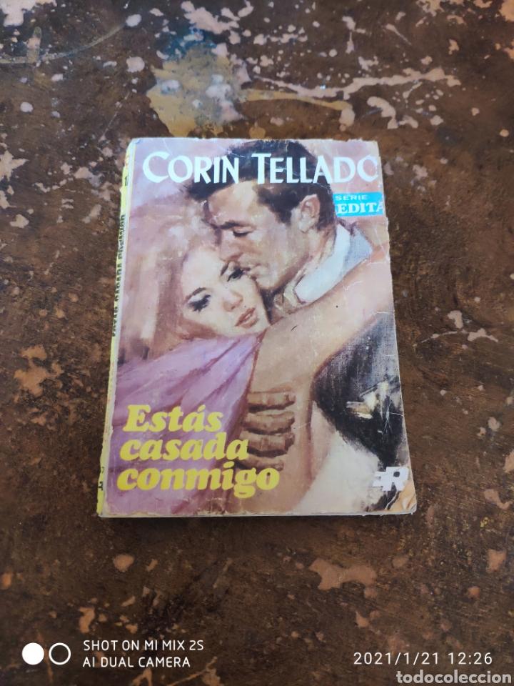 SERIE INÉDITA, CORIN TELLADO N° 174: ESTÁS CASADA CONMIGO (CORIN TELLADO) (ED. ROLLAN) (Libros de Segunda Mano (posteriores a 1936) - Literatura - Narrativa - Novela Romántica)