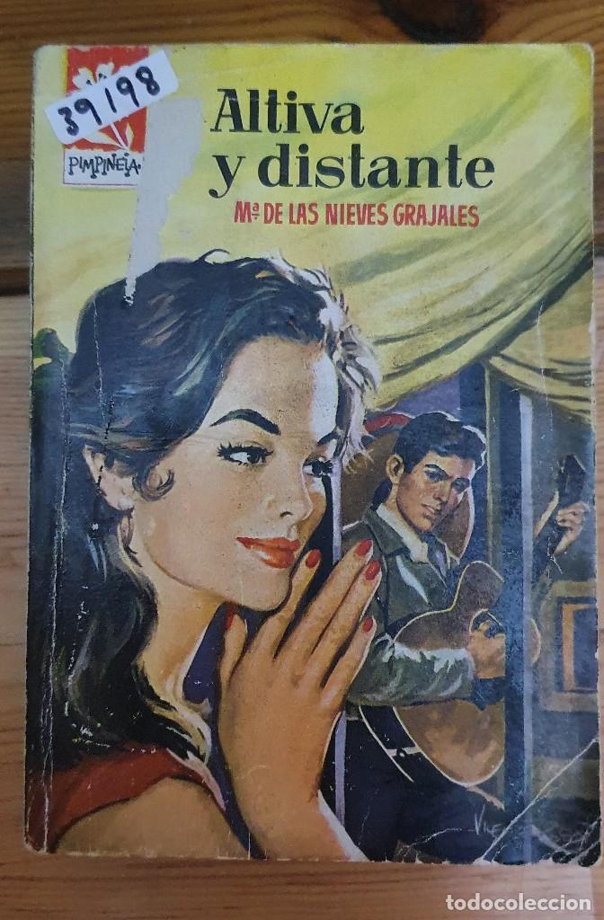 39198 - NOVELA ROMANTICA - COLECCION PIMPINELA - ALTIVA Y DISTANTE - Nº 800 (Libros de Segunda Mano (posteriores a 1936) - Literatura - Narrativa - Novela Romántica)