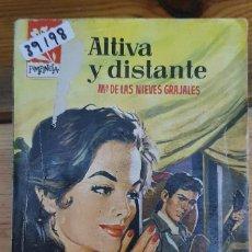 Libros de segunda mano: 39198 - NOVELA ROMANTICA - COLECCION PIMPINELA - ALTIVA Y DISTANTE - Nº 800. Lote 236334120
