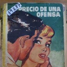 Libros de segunda mano: 39287 - NOVELA ROMANTICA - COLECCION AZUCENA - PRECIO DE UNA OFENSA - Nº 52. Lote 236335105