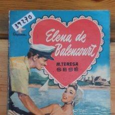 Libros de segunda mano: 39270 - NOVELA ROMANTICA - COLECCION ORQUIDEA - ALGO IBA A INTERPONERSE ENTRE LOS DOS - Nº 54. Lote 236335740