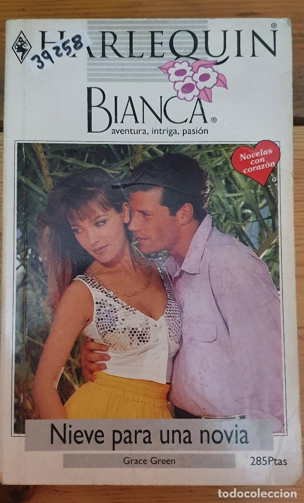 39258 - BIANCA - NOVELA ROMANTICA - NIEVE PARA UNA NOVIA - Nº 654 (Libros de Segunda Mano (posteriores a 1936) - Literatura - Narrativa - Novela Romántica)