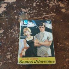 Libros de segunda mano: ALONDRA N° 534: SOMOS DIFERENTES (CARLOS DE SANTANDER) (ED. BRUGUERA). Lote 236359460