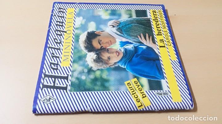 LA HEREDERA / CAROLE MORTIMER / HARLEQUIN / AE204 (Libros de Segunda Mano (posteriores a 1936) - Literatura - Narrativa - Novela Romántica)