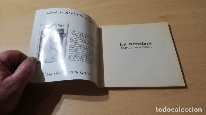Libros de segunda mano: LA HEREDERA / CAROLE MORTIMER / HARLEQUIN / AE204 - Foto 3 - 236418235