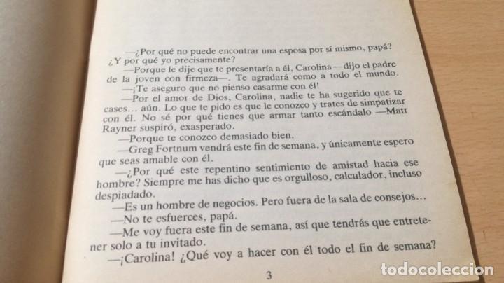 Libros de segunda mano: LA HEREDERA / CAROLE MORTIMER / HARLEQUIN / AE204 - Foto 5 - 236418235