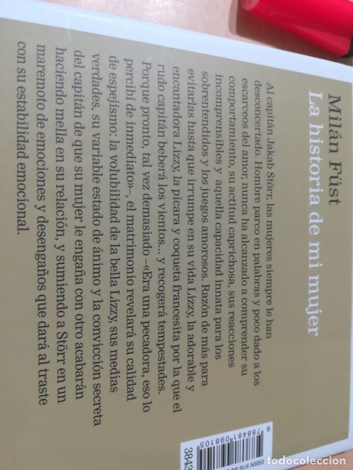 Libros de segunda mano: LA HISTORIA DE MI MUJER / MILAN FUST / CIRCULO DE LECTORES / CMA18 - Foto 4 - 236440825