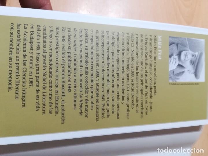 Libros de segunda mano: LA HISTORIA DE MI MUJER / MILAN FUST / CIRCULO DE LECTORES / CMA18 - Foto 8 - 236440825