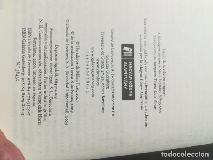 Libros de segunda mano: LA HISTORIA DE MI MUJER / MILAN FUST / CIRCULO DE LECTORES / CMA18 - Foto 12 - 236440825