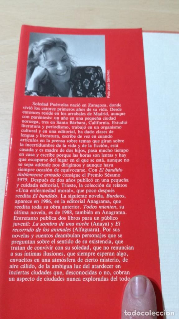 Libros de segunda mano: QUEDA LA NOCHE / SOLEDAD PUERTOLAS / PLANETA / ESQ111 - Foto 4 - 236443605