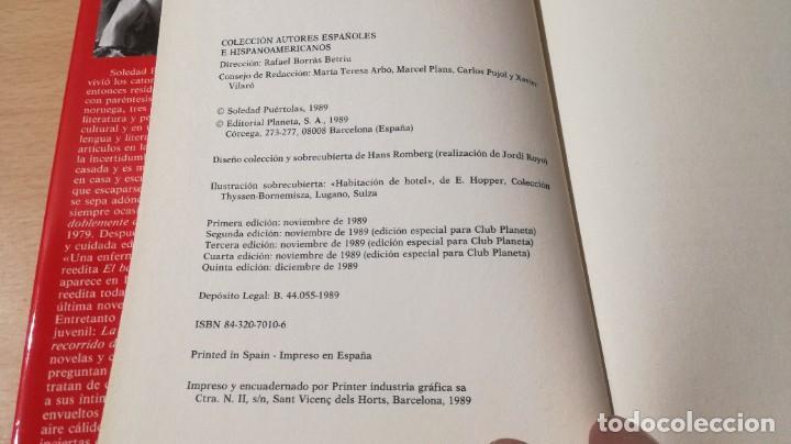 Libros de segunda mano: QUEDA LA NOCHE / SOLEDAD PUERTOLAS / PLANETA / ESQ111 - Foto 8 - 236443605