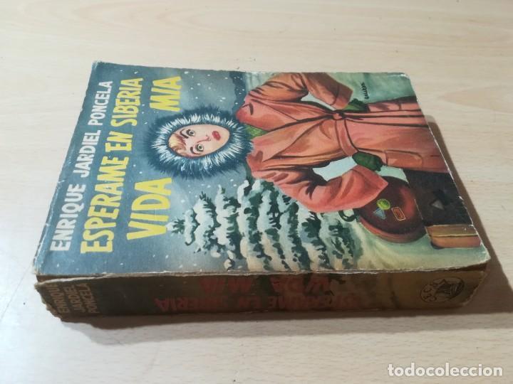ESPERAME EN SIBERIA VIDA MIA / ENRIQUE JARDIEL PONCELA / CECSA / ESQ125 (Libros de Segunda Mano (posteriores a 1936) - Literatura - Narrativa - Novela Romántica)