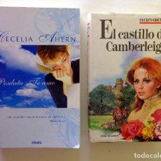 Libros de segunda mano: EL CASTILLO DE CAMBERLEIGH, GREY, EVELYN + POSDATA: TE AMO, CECILIA AHERN. Lote 236996855