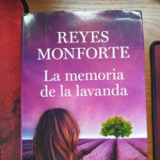 Libros de segunda mano: LA MEMORIA DE LA LAVANDA. REYES MONFORTE. TAPA DURA.. Lote 237483610