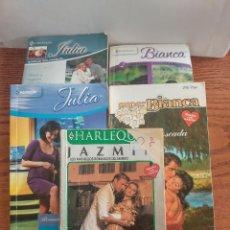 Livres d'occasion: LOTE 5 NOVELAS VARIADAS BIANCA, SUPER BIANCA, JULIA, JAZMIN - ED HARLEQUIN. Lote 239605490