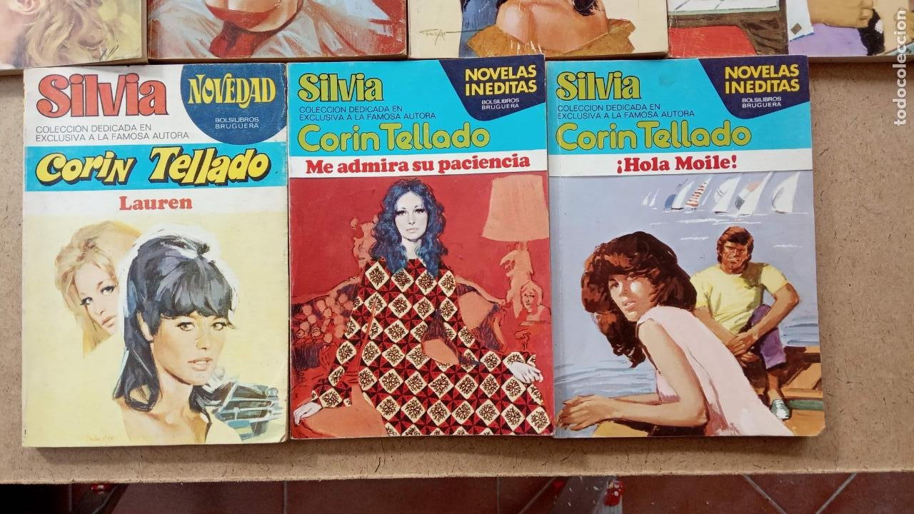 Libros de segunda mano: CORIN TELLADO, 27 NOVELAS - BRUGUERA 1975-76 - COLECCIÓN SILVIA, CORINTO, CORAL - Foto 5 - 239912245