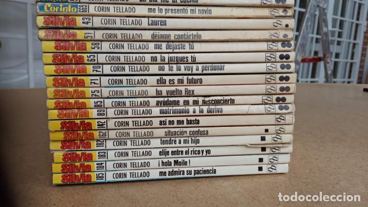 Libros de segunda mano: CORIN TELLADO, 27 NOVELAS - BRUGUERA 1975-76 - COLECCIÓN SILVIA, CORINTO, CORAL - Foto 8 - 239912245