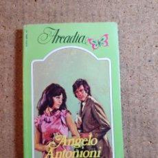 Libros de segunda mano: NOVELA ARCADIA DE ANGELO ANTONIONI EN SEGUNDAS NUPCIAS Nº 107. Lote 242924830