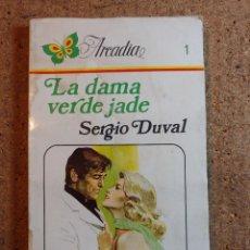 Libros de segunda mano: NOVELA ARCADIA DE SERGIO DUVAL EN LA DAMA VERDE JADE Nº 1. Lote 243501025