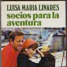 Libros de segunda mano: LINARES, LUISA-MARIA. SOCIOS PARA LA AVENTURA. EDIT. JUVENTUD A-NOVLINARES-023. Lote 243567570