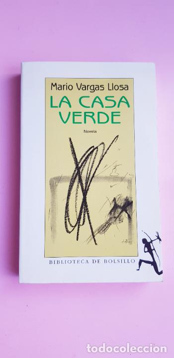 Libros de segunda mano: LIBRO-LA CASA VERDE-MARIO VARGAS LLOSA.BIBLIOTECA DE BOLSILLO-EXCELENTE-COLLECCIONISTAS - Foto 3 - 243669375