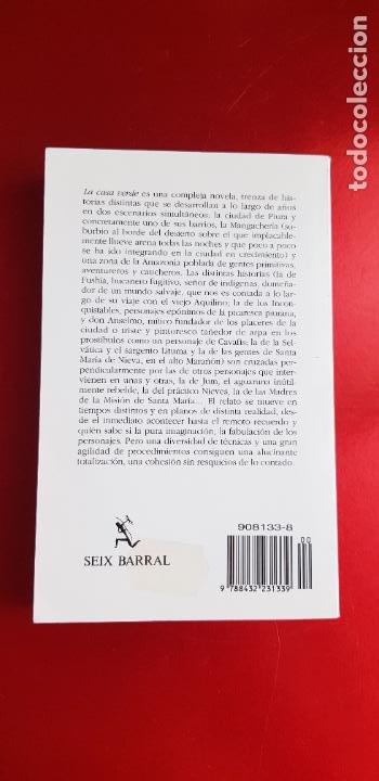 Libros de segunda mano: LIBRO-LA CASA VERDE-MARIO VARGAS LLOSA.BIBLIOTECA DE BOLSILLO-EXCELENTE-COLLECCIONISTAS - Foto 4 - 243669375