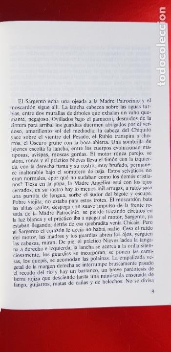 Libros de segunda mano: LIBRO-LA CASA VERDE-MARIO VARGAS LLOSA.BIBLIOTECA DE BOLSILLO-EXCELENTE-COLLECCIONISTAS - Foto 8 - 243669375