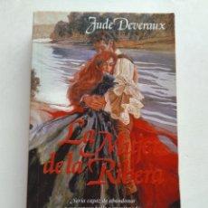 Libros de segunda mano: LA MUJER DE LA RIBERA/JUDE DEVERAUX. Lote 244468355