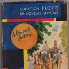 Libros de segunda mano: CAMPOS A. DAMA DE COMPAÑÍA. COLECCIÓN PUEYO Nº 354 A-NOVROM-3225. Lote 244490320