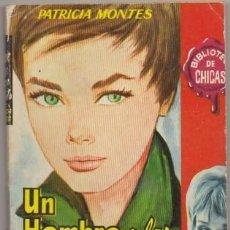 Libros de segunda mano: MONTES, PATRICIA. UN HOMBRE A LAS 12 EN PUNTO. BIBLIOTECA DE CHICAS Nº 329 A-NOVROM-3249. Lote 244520345