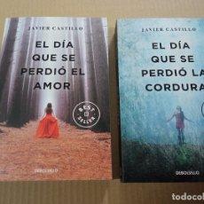 Libros de segunda mano: EL DIA QUE SE PERDIÓ EL AMOR + EL DÍA QUE SE PERDIÓ LA CORDURA. Lote 244525120