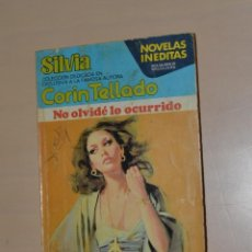 Libros de segunda mano: BOLSILIBROS BRUGUERA - CORIN TELLADO - NO OLVIDÉ LO OCURRIDO - 1978. Lote 245071440