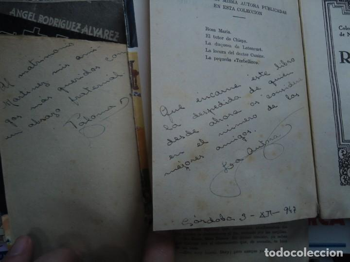 Libros de segunda mano: 2 LIBROS DEDICADOS POR LA AUTORA PALOMA MARTIN BAENA Rosamaría y Mi terrible abuelo DEDICADOS - Foto 2 - 245636130