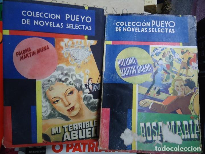 Libros de segunda mano: 2 LIBROS DEDICADOS POR LA AUTORA PALOMA MARTIN BAENA Rosamaría y Mi terrible abuelo DEDICADOS - Foto 3 - 245636130
