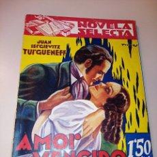 Libros de segunda mano: AMOR VENCIDO. Lote 245638980