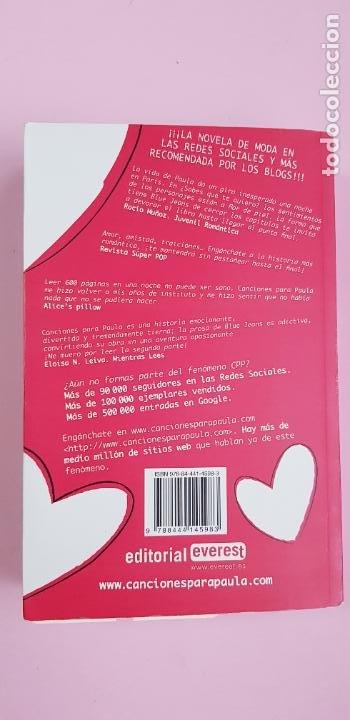 Libros de segunda mano: libro-sabes que te quiero-blue jeans-editorial everest-2010-2ªparte de canciones a Paula-buen estado - Foto 5 - 245740505