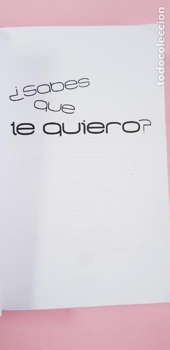 Libros de segunda mano: libro-sabes que te quiero-blue jeans-editorial everest-2010-2ªparte de canciones a Paula-buen estado - Foto 8 - 245740505