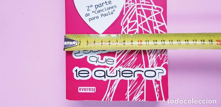 Libros de segunda mano: libro-sabes que te quiero-blue jeans-editorial everest-2010-2ªparte de canciones a Paula-buen estado - Foto 14 - 245740505