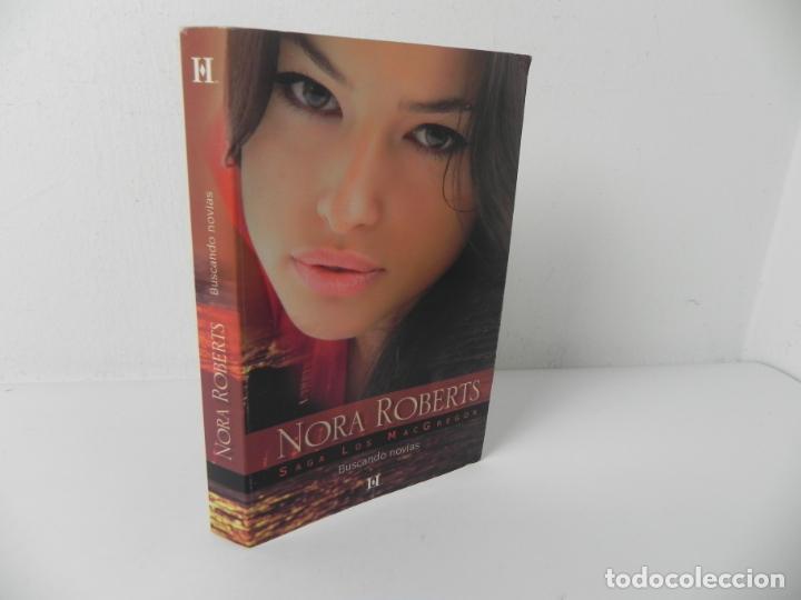 LA SAGA DE LOS MACGREGOR (BUSCANDO NOVIAS) NORA ROBERTS - HARLEQUIN-2008 (Libros de Segunda Mano (posteriores a 1936) - Literatura - Narrativa - Novela Romántica)