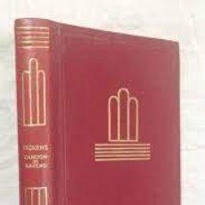 Libros de segunda mano: CANCIÓN DE NAVIDAD EL GRILLO DEL HOGAR CHARLES DICKENS. Lote 246127645
