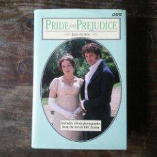 Libros de segunda mano: PRIDE AND PREJUDICE JANE AUSTEN BBC BOOKS 1995 ORGULLO Y PREJUICIO LIBRO EN INGLÉS CON ALGUNA FOTO. Lote 246179835